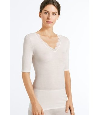 Woolen Lace Shirt Vanilla (NEW ARRIVALS)
