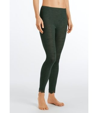Woolen Lace Legging Green Marble (NEW)