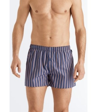 Fancy Woven Boxer Orange Blue Stripe (NEW)