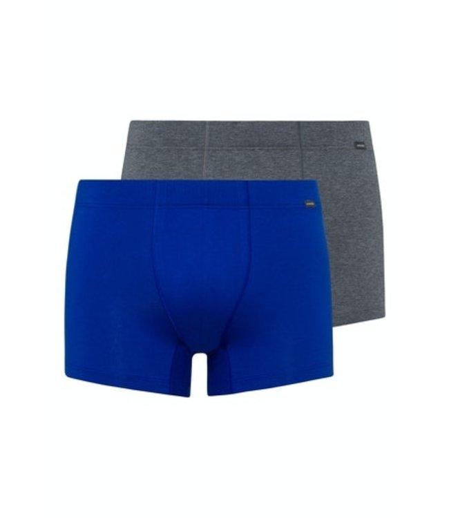 Cotton Essentials Pants 2-Pack Sapphire/Coal Melange (NEW)