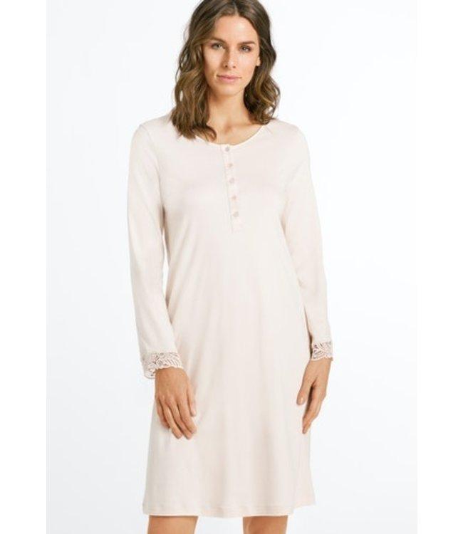 Madlen Long Sleeve Nightdress Pearl Rose (NEW)