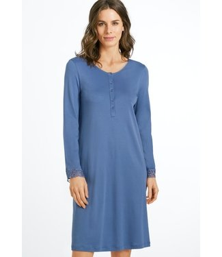 Madlen Long Sleeve Nightdress Clematis Blue (NEW ARRIVALS)