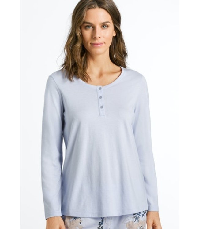 Sleep & Lounge Long Sleeve Shirt Lavender Frost (NEW)