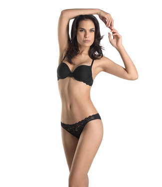 Moments Padded Bra Black (SALE)