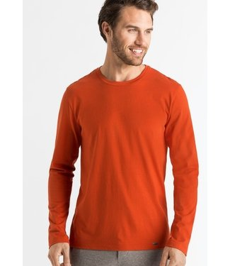Hanro Living Shirts Long Sleeve Vermillon (NEW ARRIVALS)