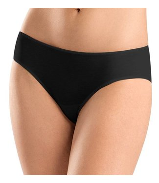 Sea Island Cotton Midi Brief Black