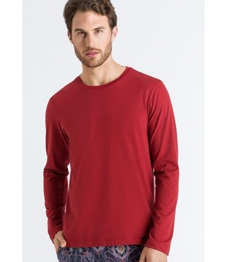 Hanro Living Shirts Long Sleeve Redwood (NEW)