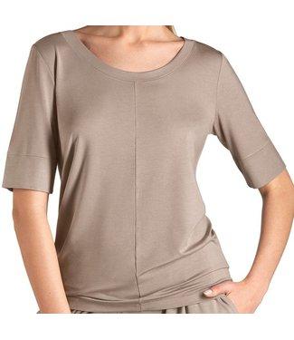 Yoga Shirt Taupe Grey