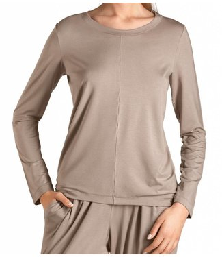 Yoga Long Sleeve Taupe Grey