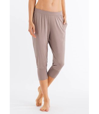 Yoga Pants 3/4 Length Taupe Grey
