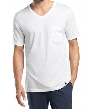 Night & Day V-Neck Shirt  White