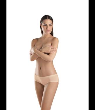 Perfectly Nude Cotton Velvet Low Rise Boyleg Beige