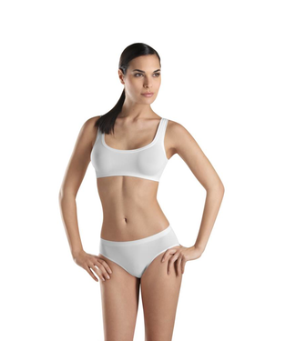 Touch Feeling Crop Top White