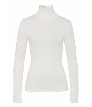 Woolen Silk Long Sleeve Turtle-Neck Cygne