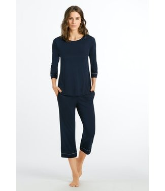 Natural Comfort Crop Pajama Deep Navy (NEW BASIC)