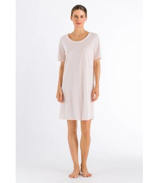 Cotton Deluxe Short Sleeve Nightdress Crystal Pink