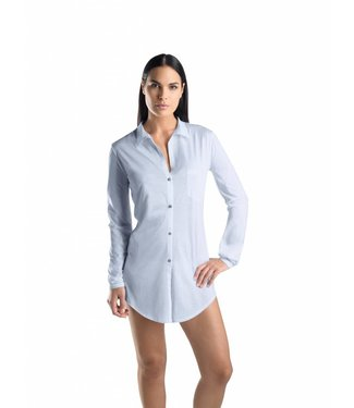 Cotton Deluxe Nightshirt Carry Blue Glow