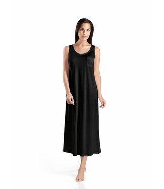 Cotton Deluxe Nightdress Black