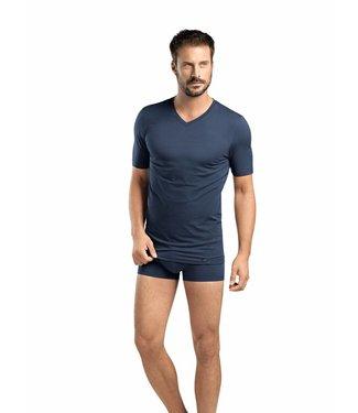 Liam V-Neck T-Shirt Midnight Navy