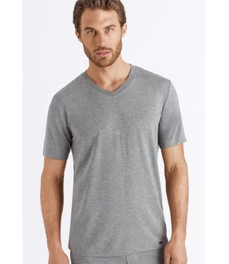 Hanro Casuals Shirt V-Neck Stone Melange (NEW BASIC)