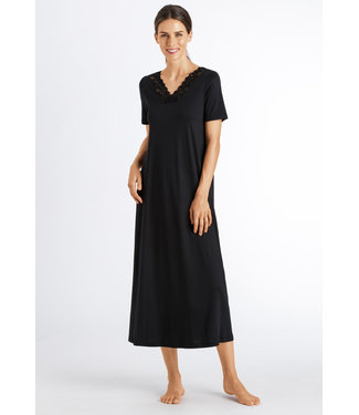 Moments Long Nightdress Black
