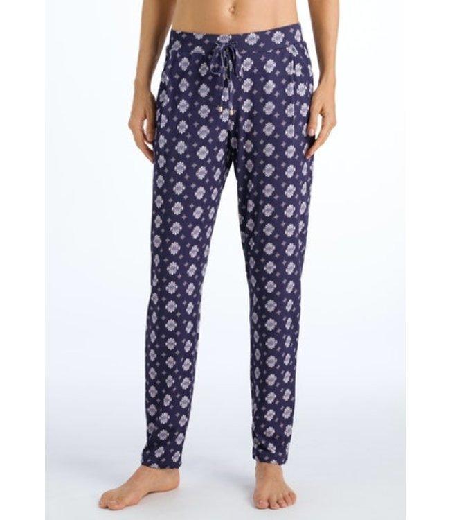 Hanro Sleep & Lounge Long Pants Ornamental Print (NEW ARRIVALS)