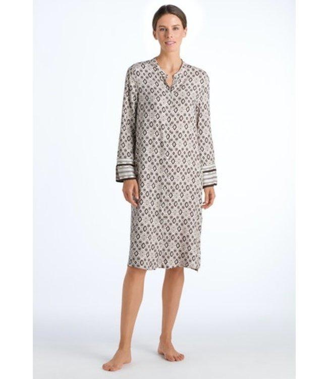 Hanro Favourites Long Sleeve Dress Boho Print (NEW ARRIVALS)