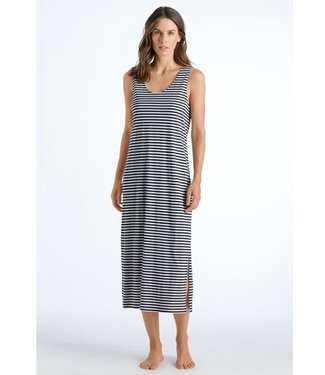 Laura Sleeveless Dress Midnight Stripe (NEW ARRIVALS)