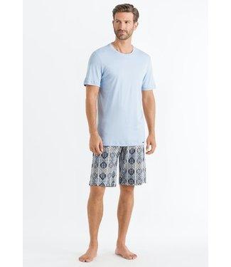 Night & Day Short Pajama Striped Paisley (NEW ARRIVALS)