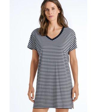 Laura Nightdress Midnight Stripe (NEW ARRIVALS)