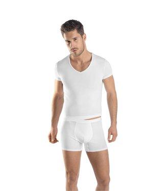 Micro Touch Shirt V-Neck White