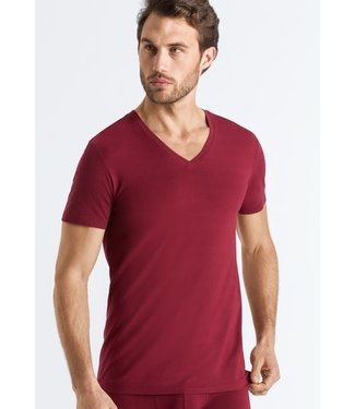 Cotton Superior Shirt V-Neck Ruby (NEW ARRIVALS)