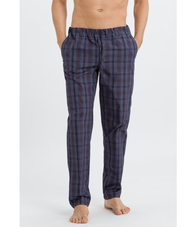 Night & Day Long Pants Fine Bluish Check (NEW ARRIVALS)