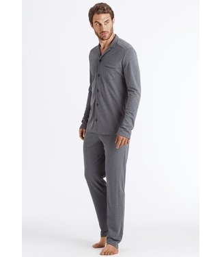 Night & Day Long Sleeve Pyjama Medium Melange (NEW ARRIVALS)