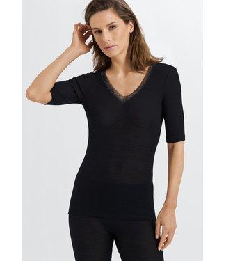 Woolen Lace Shirt Black (NEW ARRIVALS)