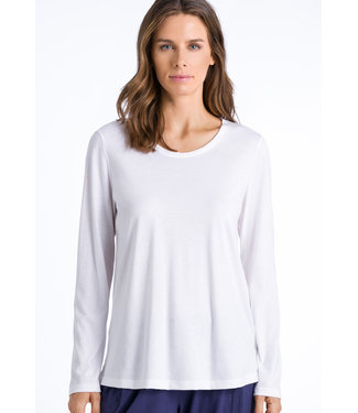Sleep & Lounge Long Sleeve Shirt White (NEW ARRIVALS)