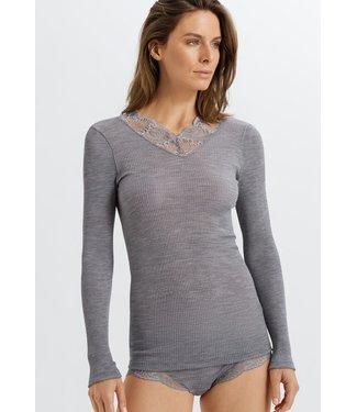 Tessa Long Sleeve Shirt Silver (NEW ARRIVALS)