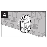 Universeller Leitungsschutzschalter-Verriegelung S2394