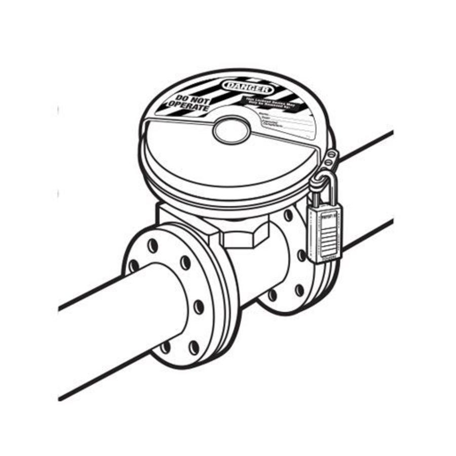 Absperr-Ventilverriegelungen 480D in SB-Verpackung.