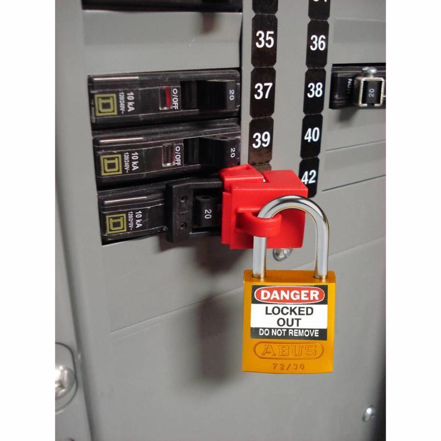 Etiketten für Aluminium Vorhängeschlösser 050289