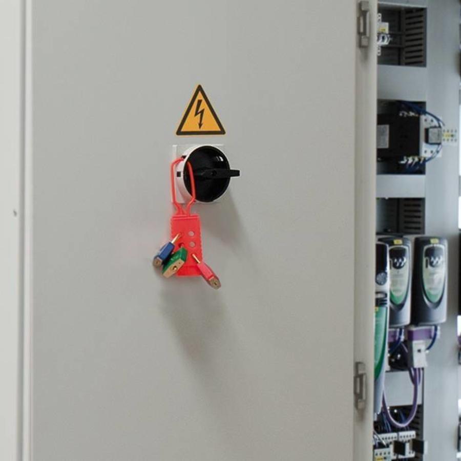 Kunststoff-Hauptschalter-Verriegelung 00346