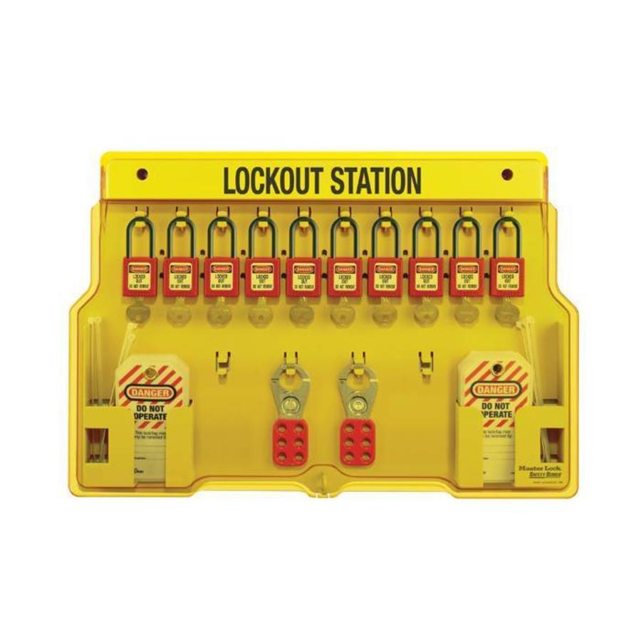 Lockout Station 1483BP406 gleichschliessend / verschiedend schliessend