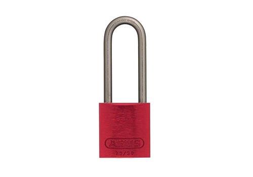 Sicherheitsvorhängeschloss aus eloxiertes Aluminium rot 72IB/30HB50 ROT