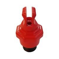 Sperrkappen für Sicherungselementen mit vorhängeschloss verreigelung