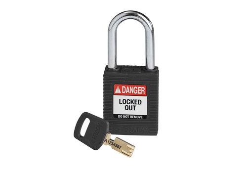 SafeKey nylon Sicherheits-vorhängeschloss schwarz 150234