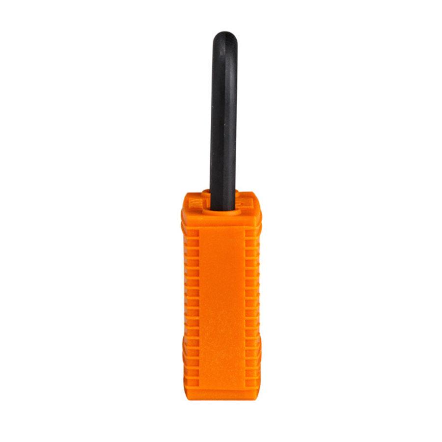 SafeKey nylon Sicherheits-vorhängeschloss orange 150230 / 150310