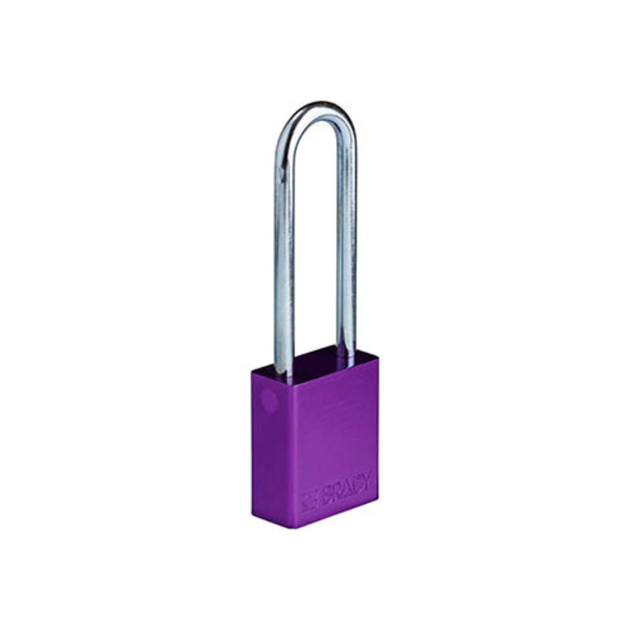 SafeKey Aluminium Sicherheits-vorhängeschloss lila 150330