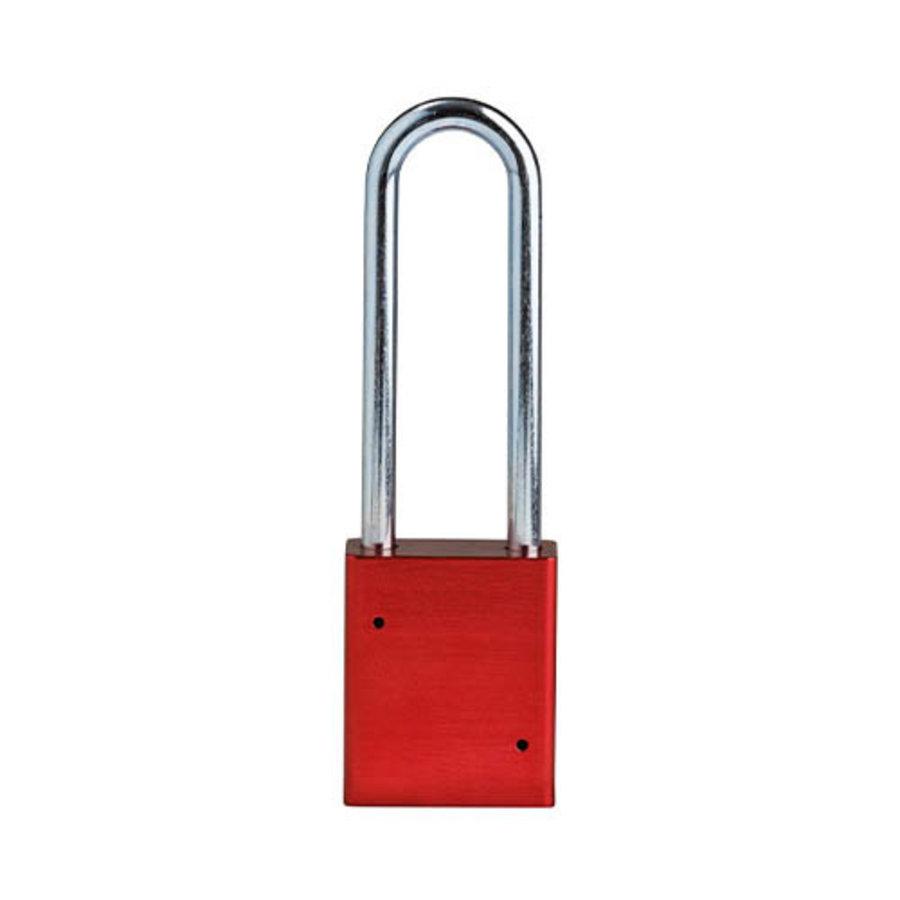 SafeKey Aluminium Sicherheits-vorhängeschloss Rot 150332