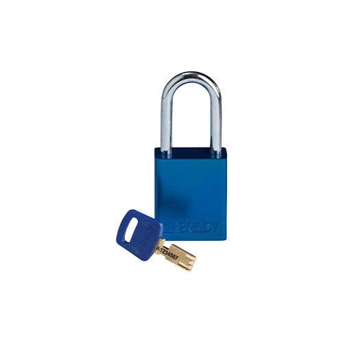 SafeKey Aluminium Sicherheits-vorhängeschloss Blau 150287