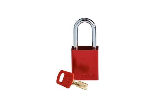 SafeKey Aluminium Sicherheits-vorhängeschloss Rot 150307